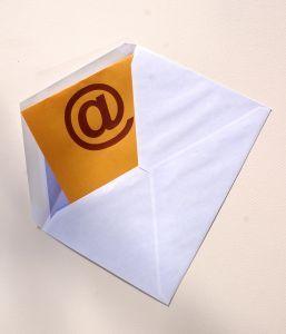 Sobre para E-Mail