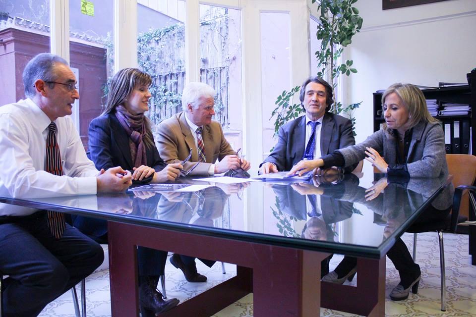 asesoria fiscal, asesoria laboral, asesoria contable en barcelona, Coma Roig asesor reunion