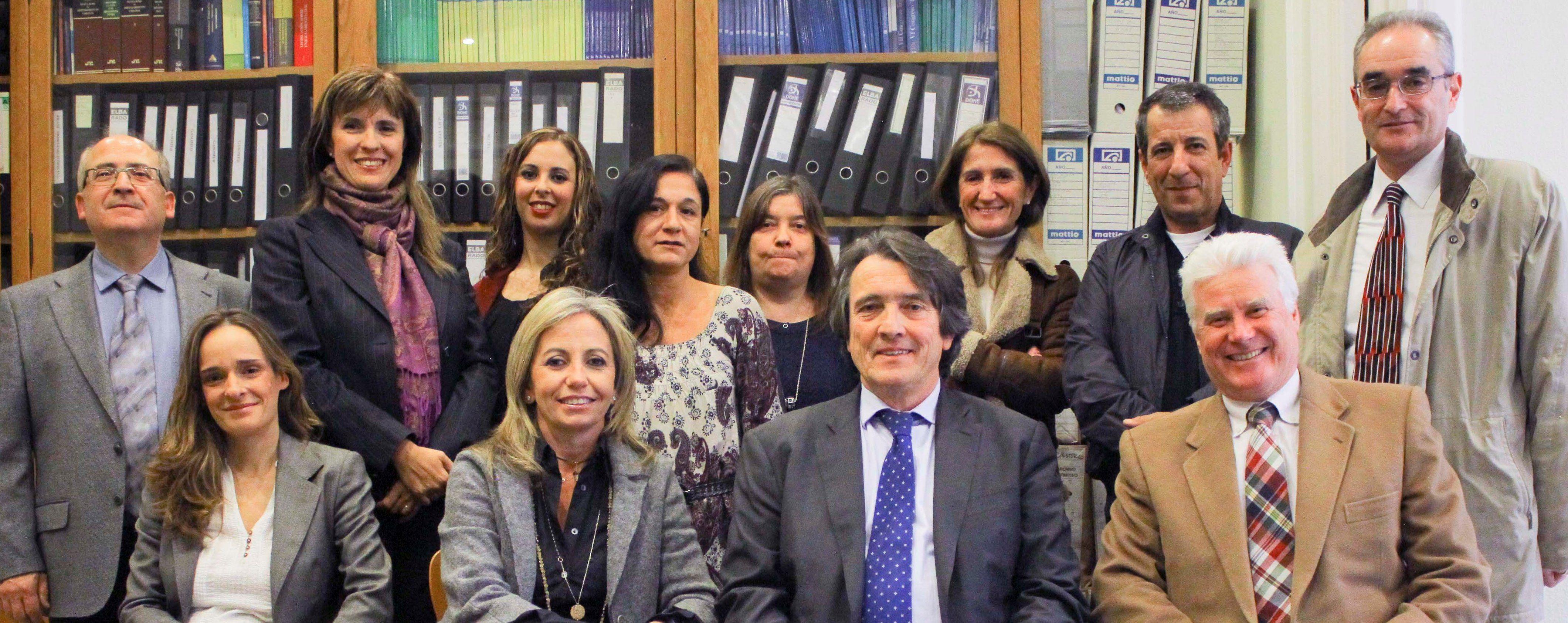 El equipo del despacho