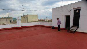 ¿A quién pertenece el uso de la terraza comunitaria?